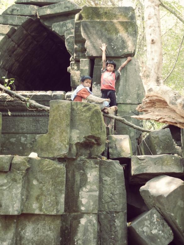 Climbing Ruins